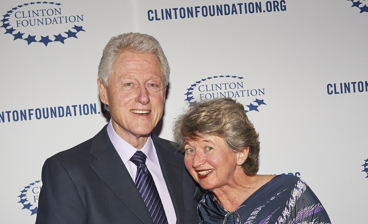 Bill Clinton and Doris Michaels (March 2013) v2